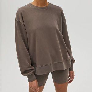 🌸Tna (Aritzia) AIRYAF Boyfriend Crew Sweatshirt